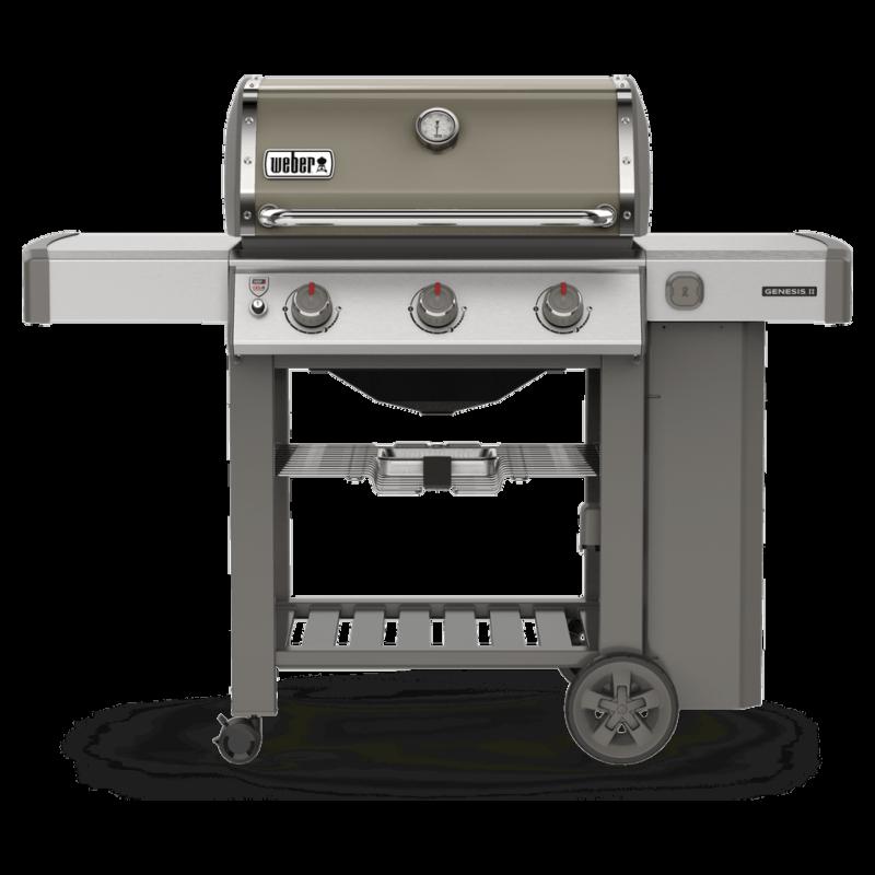 Genesis II E-310 GBS Gasolgrill Smoke Grey